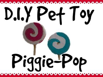 Piggie-Pop *Guinea Pig Lollipop - D.I.Y Pet Toy*