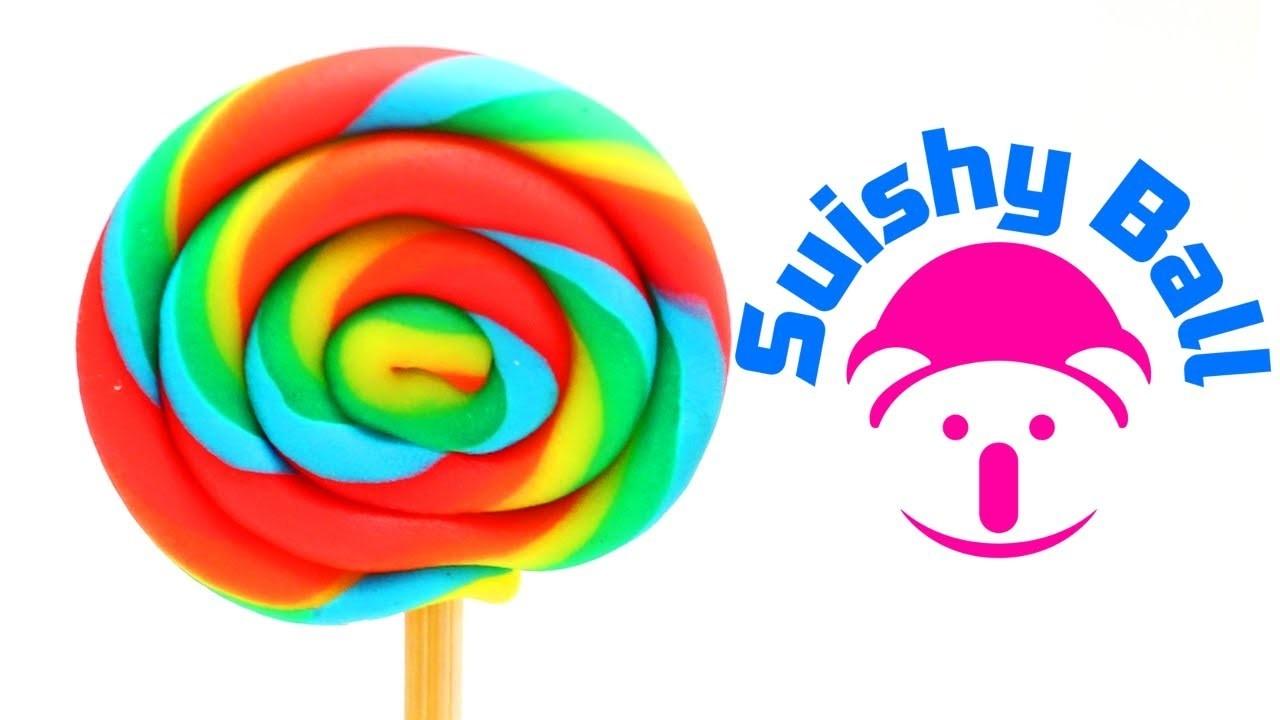 Play-doh Rainbow Lollipops Swirl Candy
