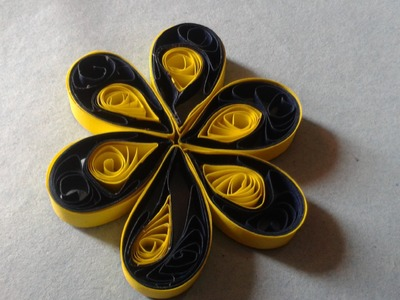 Quilling Made Easy # How to Make Quilling Paper Flower -Paper Quilling Art