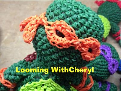 Rainbow Loom Teenage Mutant Ninja Turtles 3 of 3 - Mask Extension - TMT