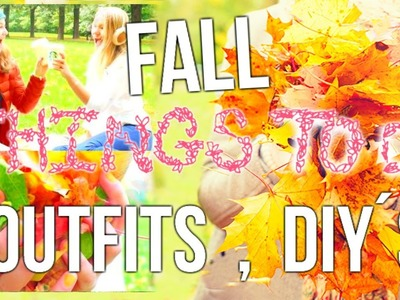 Things To Do This Fall When Bored: DIY Fall Decor + Snacks & Outfits!