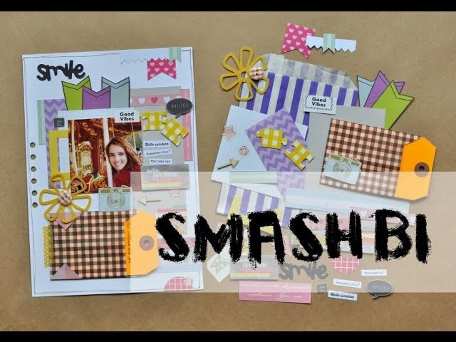 Tutorial - Página de scrapbook