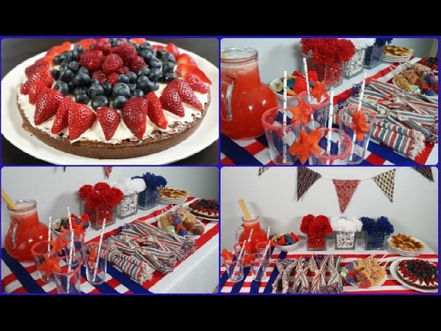 4th of July DIY Snacks & Decor| Dulce Candy
