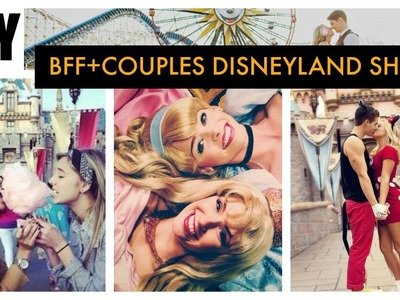 BFF and Couples DIY Disneyland T - shirts