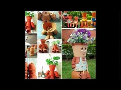 Brilliant Terra Cotta Clay Pot DIY Project For Unique And Fun Garden Decoration