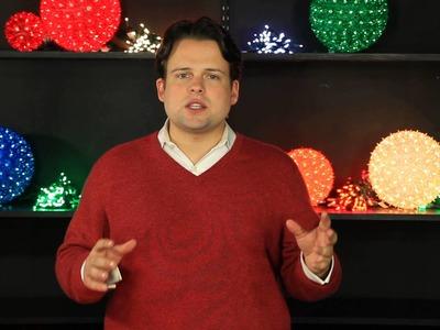 Bulb Spacing - DIY Christmas Lights
