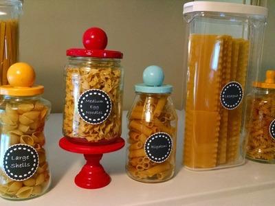 Create Decorative Pasta Jars - DIY Home - Guidecentral