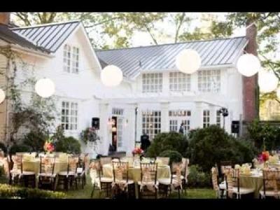 Creative DIY backyard wedding decor ideas