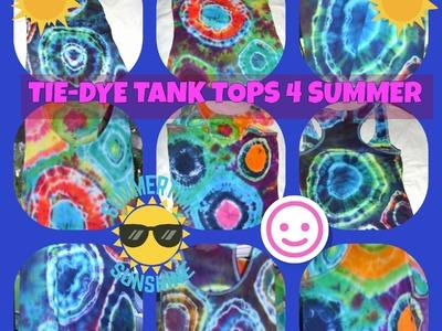 D.I.Y.~~TIE-DYE TANK TOPS 4 SUMMER~~