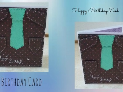 DIY |Birthday Card for Dad