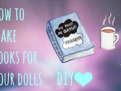 DIY Books For Your AG Dolls