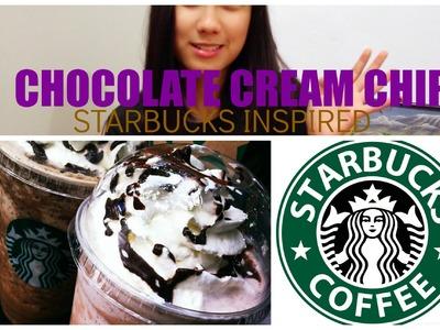 #DIY Chocolate Cream Chip { Starbucks Inspired }
