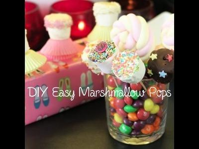 DIY Easy Marshmallow Pops