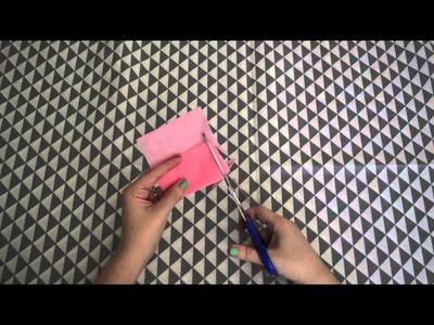DIY - guirlande papier soie