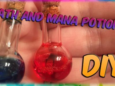 DIY Health And Mana Potion Charms! Really EASY and Fun To Make!