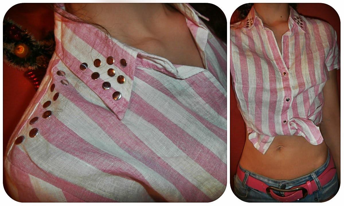 DIY. How renovate shirt (EASY). Kako prepraviti kosulju. Como renovar la camisa