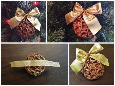 DIY - How to make an Acorn Christmas ball