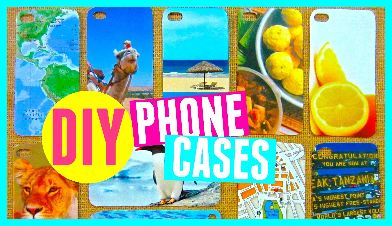 DIY Magazine Phone Cases