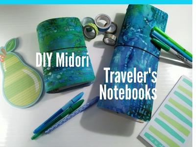 DIY Midori Traveler's Notebooks