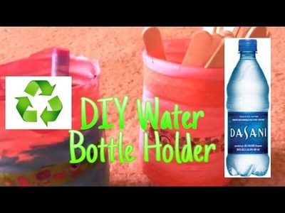 DIY Recycled Water Bottle Pencil Holders