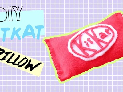 DIY Room Decor • KitKat Pillow