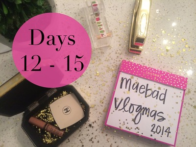 DIY Sequin Camera Strap, New Hair & Dealing with Migraines |  Vlogmas Day 12 -15