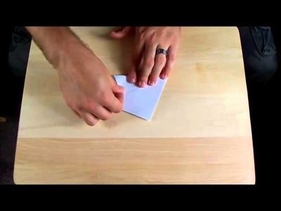 How to Fold a Paper Crane that Flaps its Wings