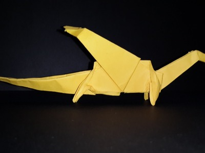 How to make a paper Dragon-Origami