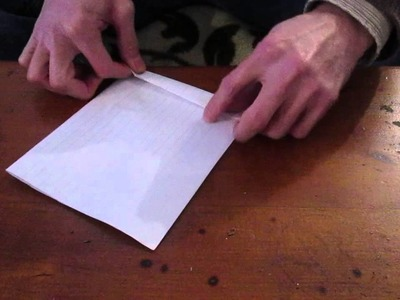 How to make a simple funnel out of paper