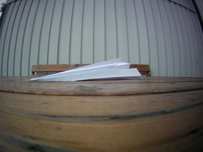 How to Make a Super Simple Paper Airplane That Flies Very Far!
