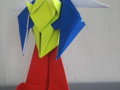 How To Make An Origami Robot Transformer Optimus Prime - Origami Paper