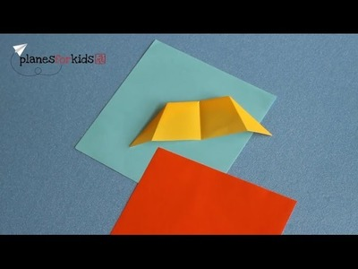 How to Make 'Paper Wings' | Origami Paper Airplane by Planes for Kids