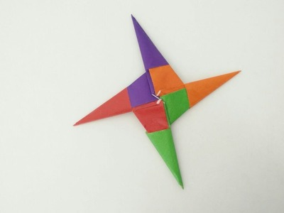 Modular Origami - Paper Ninja Star Blade(14) - 4 pointed