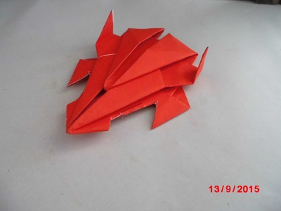 Origami car - How To Make An Origami Stealth Car - Origami Paper