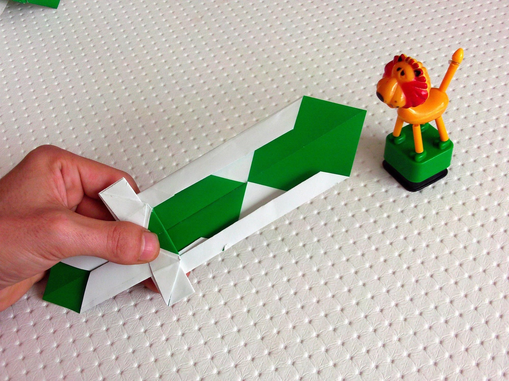 Origami Sword Paper Some Easy Hd