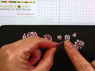Power Poppy: Paper Tole Tutorial by Allison Cope