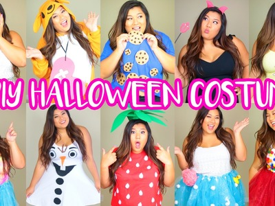 15 DIY Halloween Costumes! Last Minute, Cute & Easy!