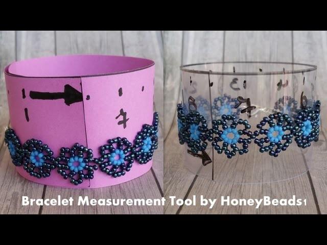 Bracelet Measurement Tool Tutorial by HoneyBeads1