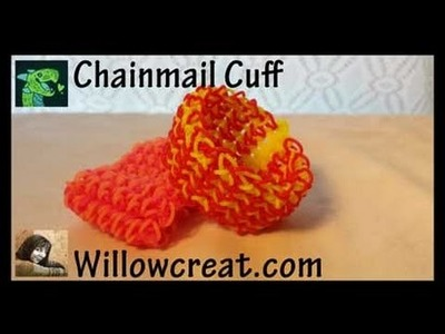 Chainmail Cuff made with a hook * Original Design *