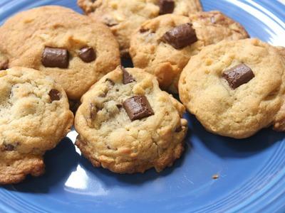 Chocolate Chip Potato Chip Cookies