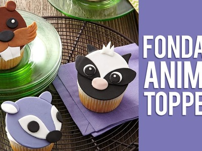 DIY Animal Cupcake Toppers