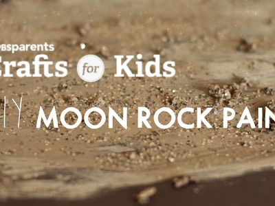 DIY Moon Rocks Paint | Crafts for Kids | PBS Parents