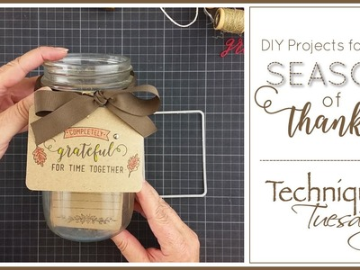 DIY Projects for Your Season of Thanks: A Tips & Techniques Video