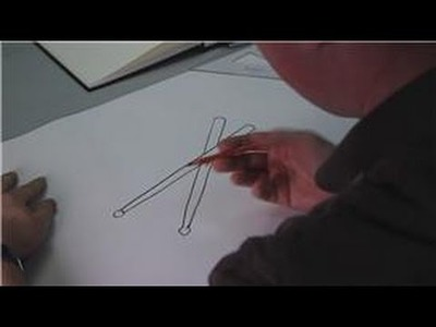 Drawing Lessons : How to Draw Drumsticks