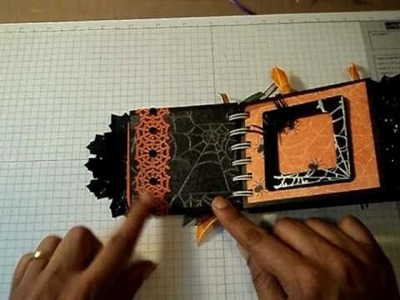 Halloween Coin Envelope Mini Album