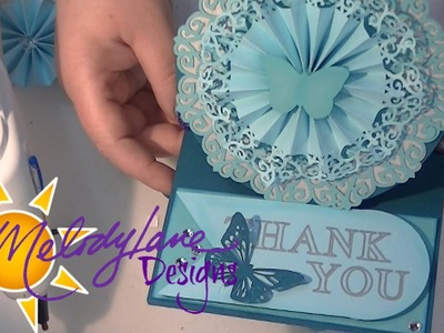 How to Make a Anna Griffin Easel Card