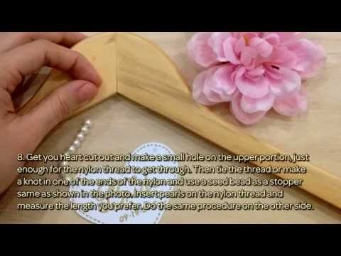 How To Make A Cute Bride And Groom Hangers - DIY Crafts Tutorial - Guidecentral