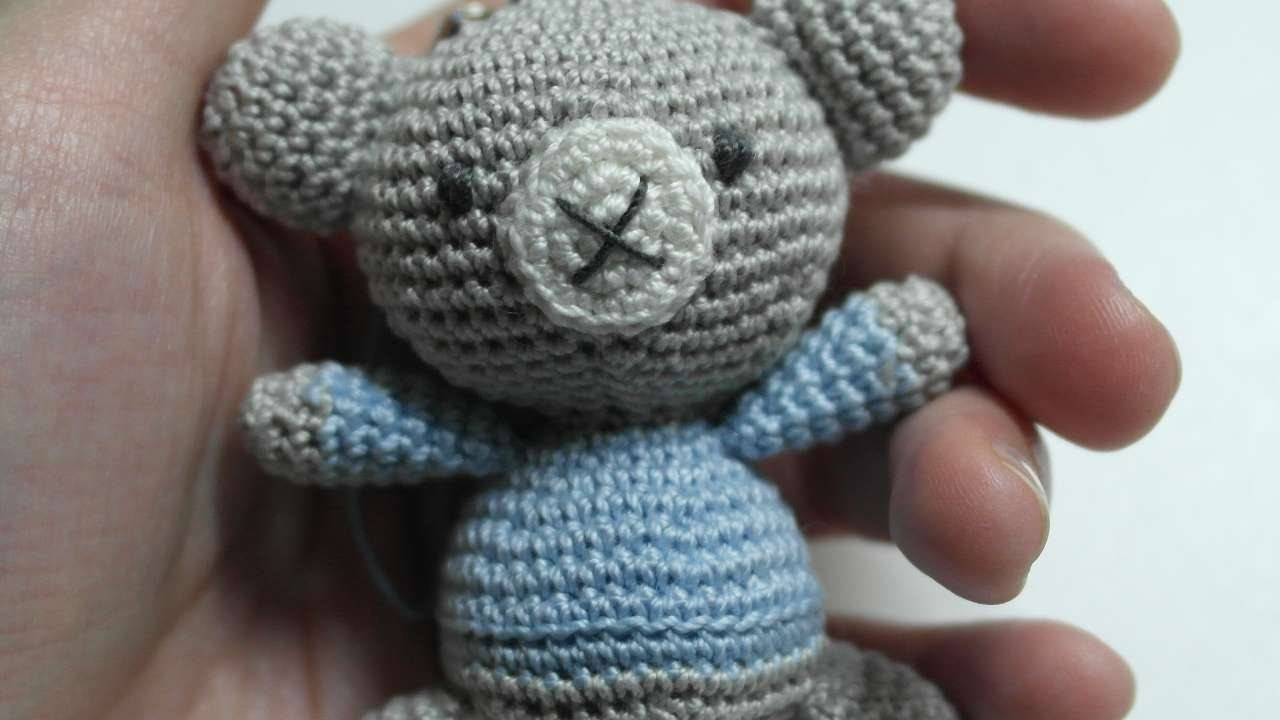 How To Make A Cute Crocheted Charm Amigurumi Bear - DIY Crafts Tutorial - Guidecentral