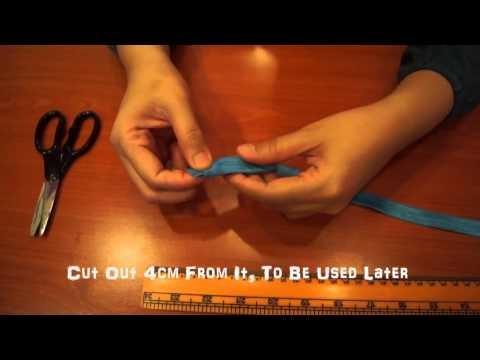 How To Make DIY Baby Elastic Headband - Tutorial 1