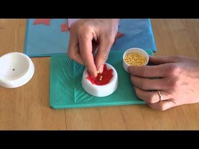 How to Make Gum Paste Poinsettias